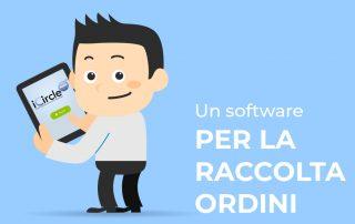 Software raccolta ordini su tablet semplice, intuitivo e personalizzabile
